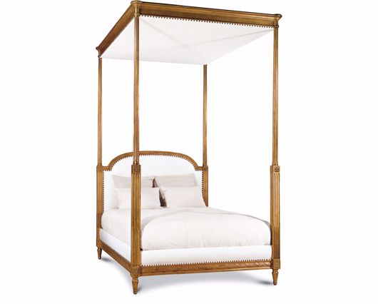 Picture of LOUIS XVI BED WITH CANOPY QUEEN