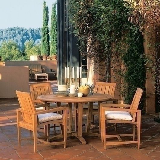 Picture of AMALFI ROUND DINING TABLE