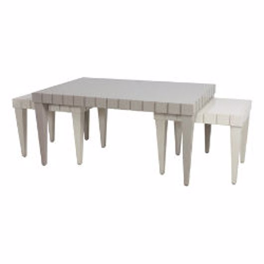 Picture of 3 PIECE COCKTAIL TABLE SET